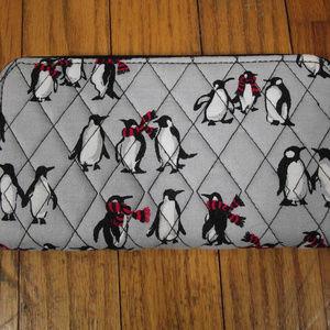 VERA BRADLEY Playful Penguin RFID Georgia Wallet
